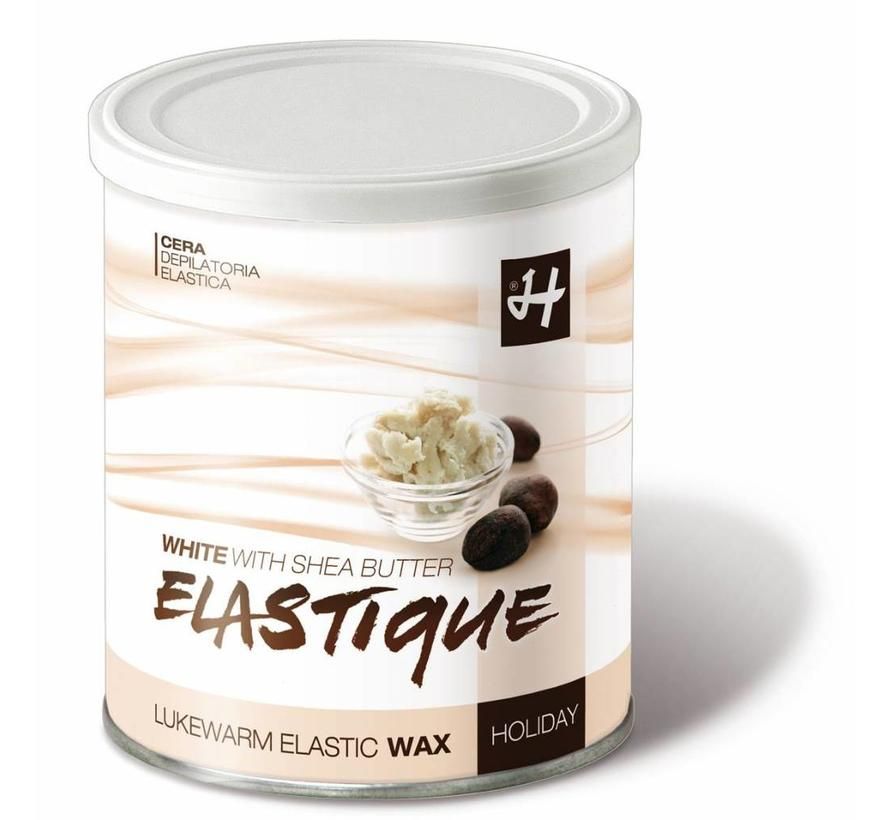 Elastic Wax White