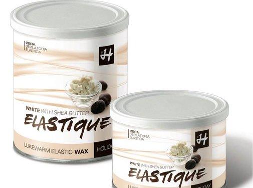 Holiday Elastic Wax White