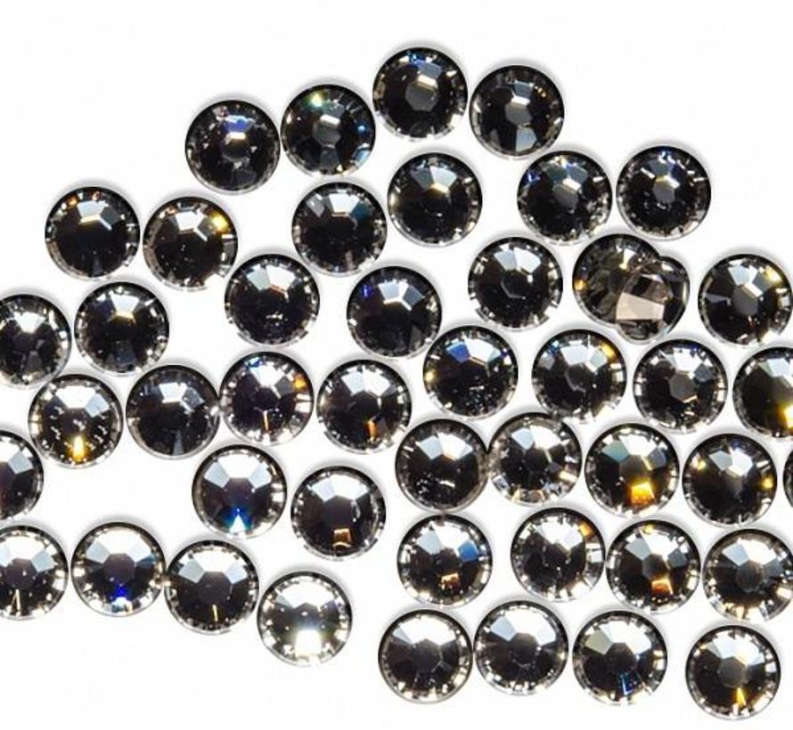 Nageldecoratie Swarovski Kristal steentjes silver