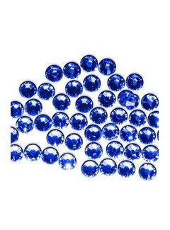 La Femme Nageldecoratie Swarovski steentjes Cobalt