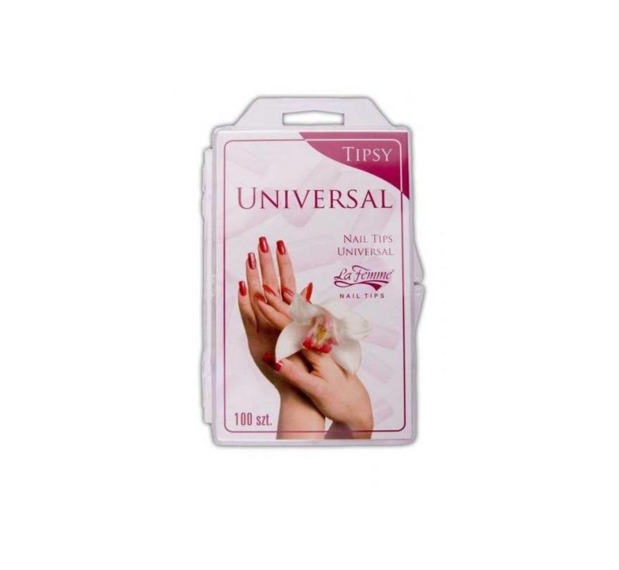 Nageltips Universeel Box/ 100 stuks