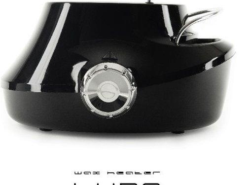 Overline Wax heater Luna Black 500