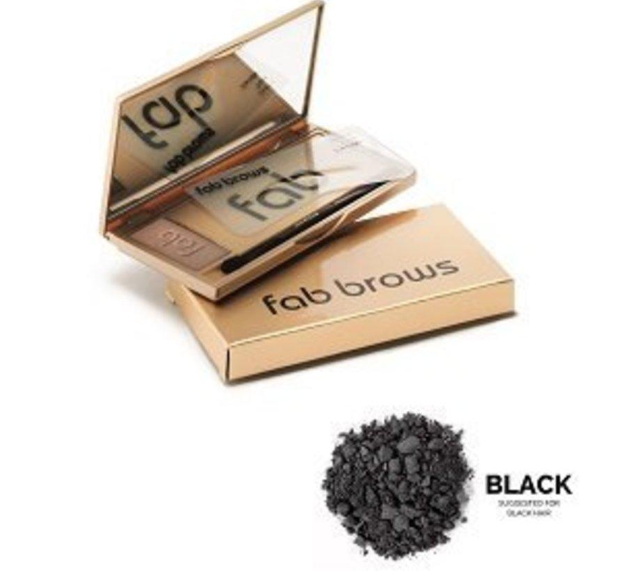 fab brows kit black