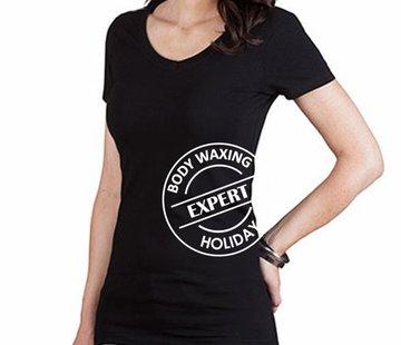 T Shirt Body Waxing Expert