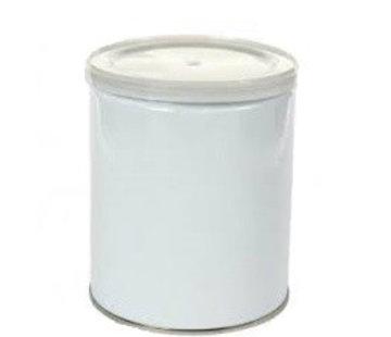 Leeg Blik met deksel voor wax parels