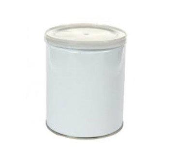 Leeg Blik 800 ml voor wax blokken, parels en disks