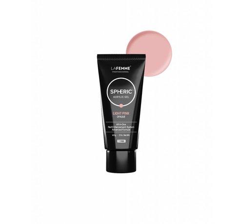 La Femme Spheric AcrylGel Light Pink - 60 gr.
