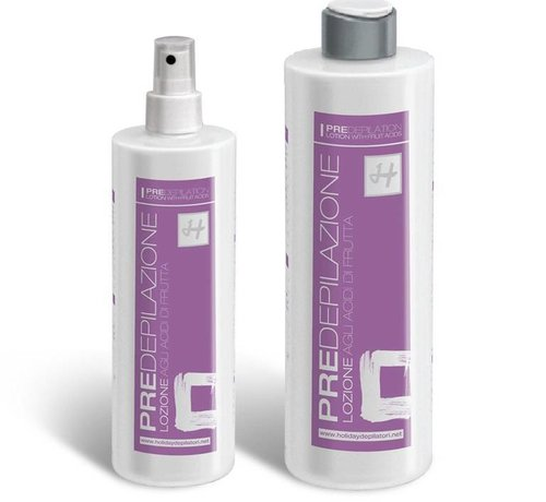 Holiday Pre wax lotion