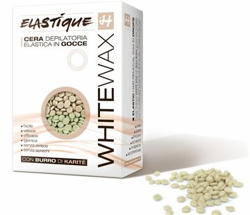 Holiday Hot Elastique wax white parels