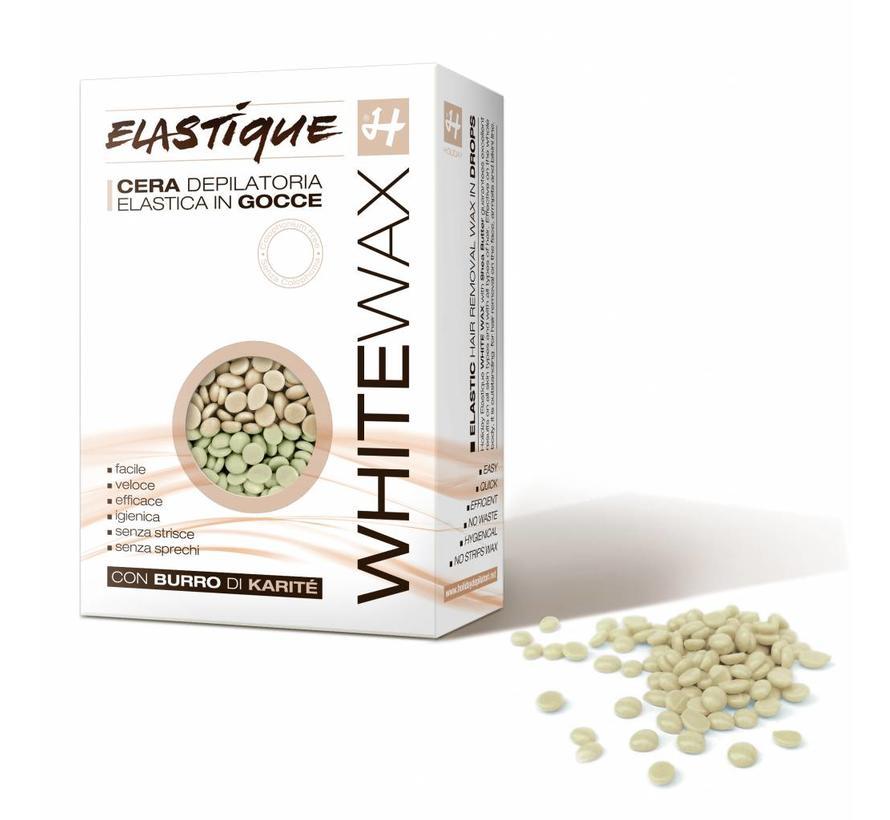Hot Elastic wax white parels