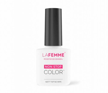 La Femme Gel Polish UV top coat Matt No Wipe