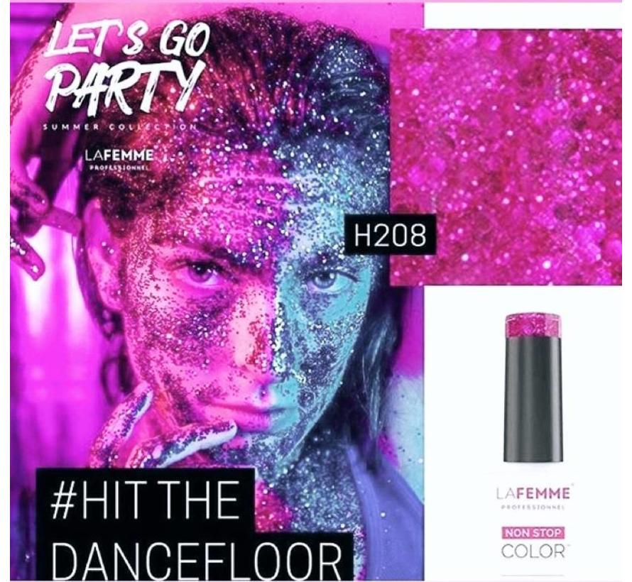 Gel Polish UV-LED  8 gr. H208/Hit the Dancefloor