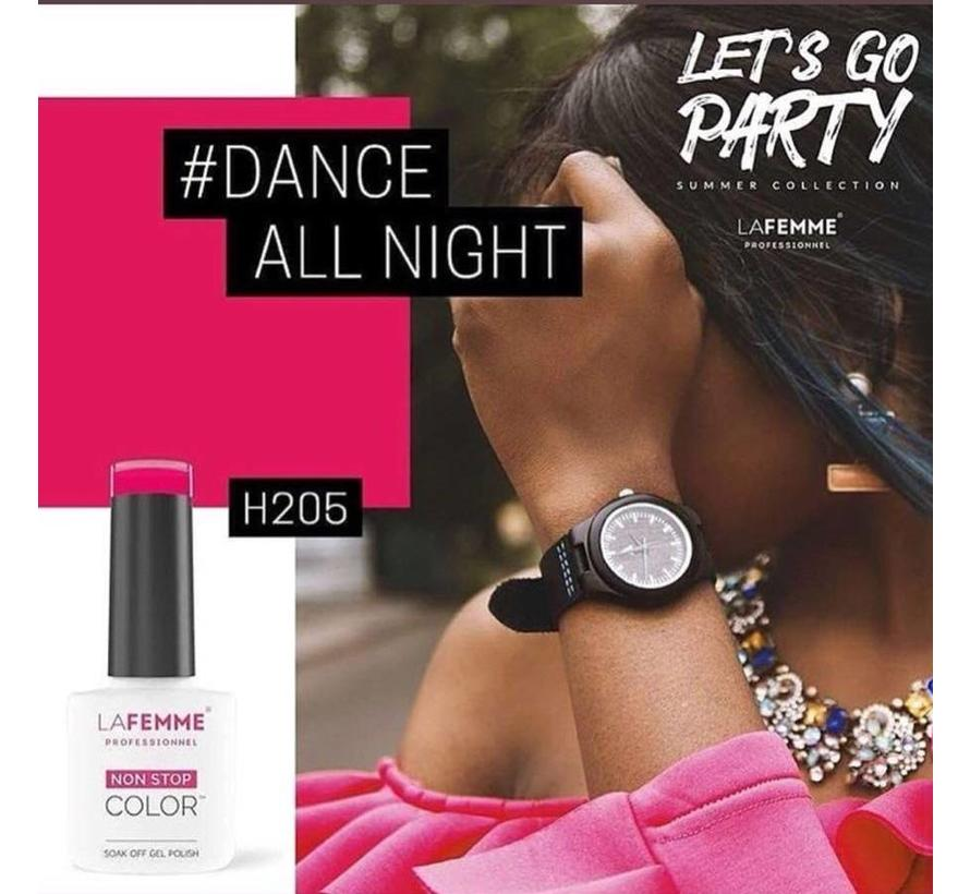 Gel Polish UV-LED  8 gr. /H205/Dance all Night