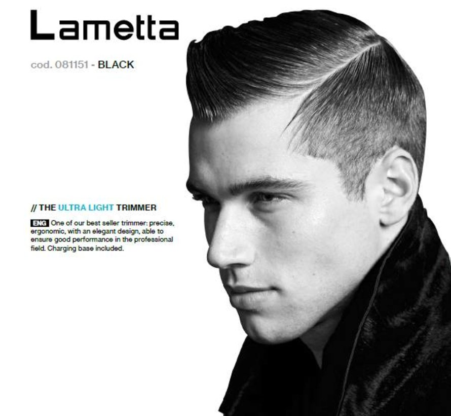 Haartrimmer Lametta black