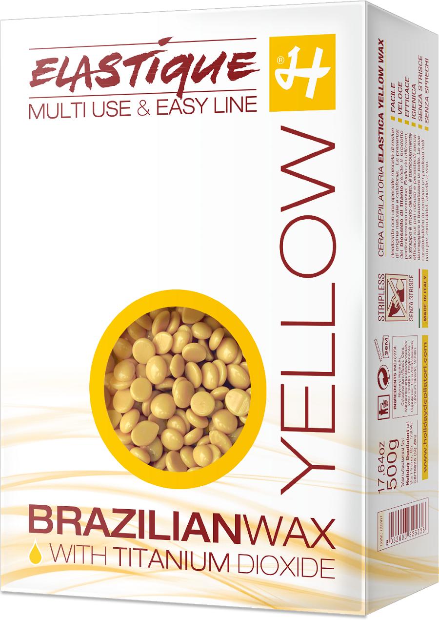 brazilian wax yellow