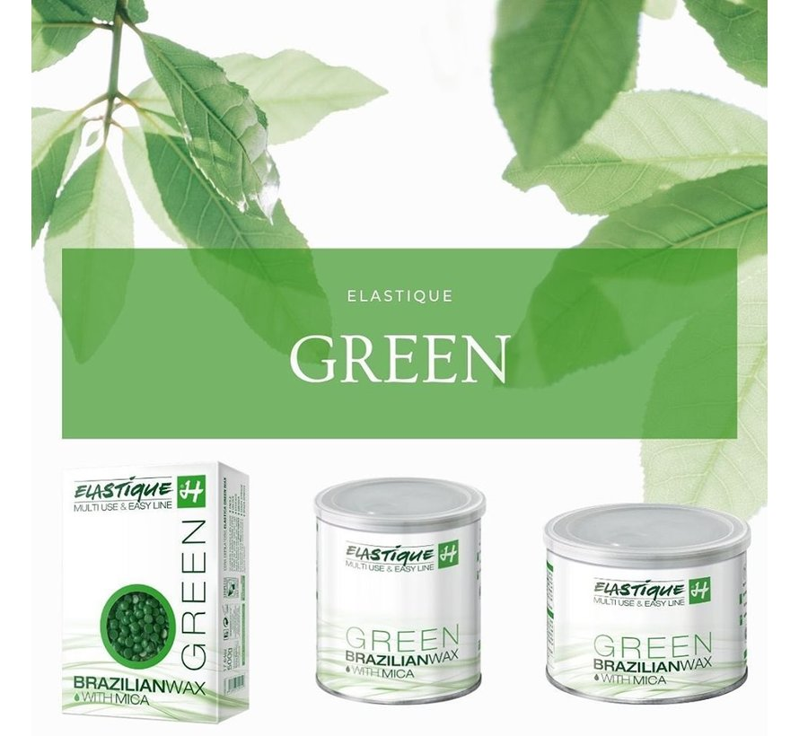 Elastique Brazilian Wax Green