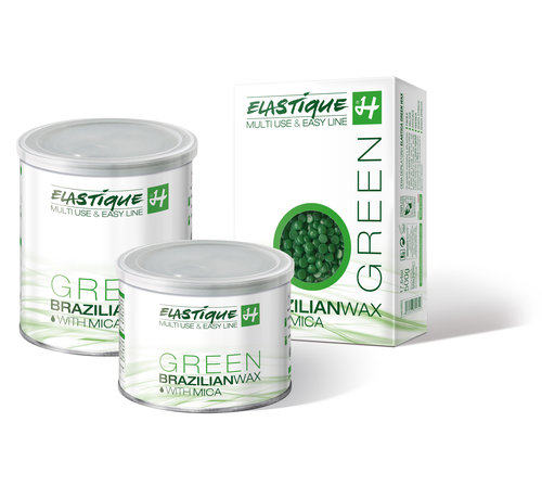 Holiday Elastique Brazilian Wax Green