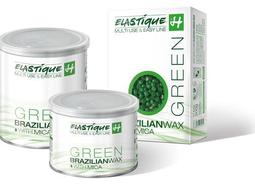 Holiday Elastique Brazilian Wax Green