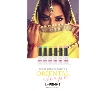 La Femme Gel Polish Ultra HD - Oriental Escape collection
