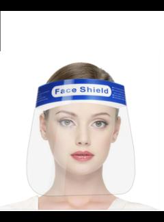 Transparante gezichtsbescherming