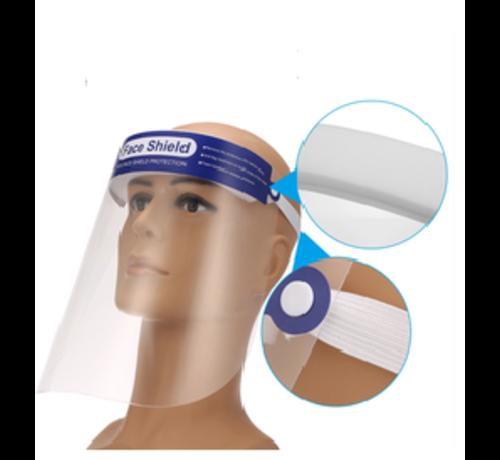 Transparante gezichtsmaskers 5 stuks
