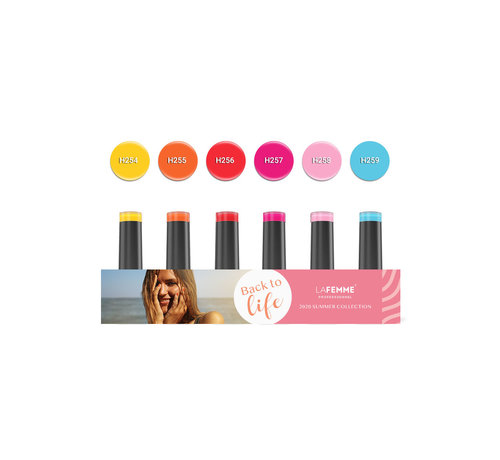 La Femme Back to Life Gel Polish collection