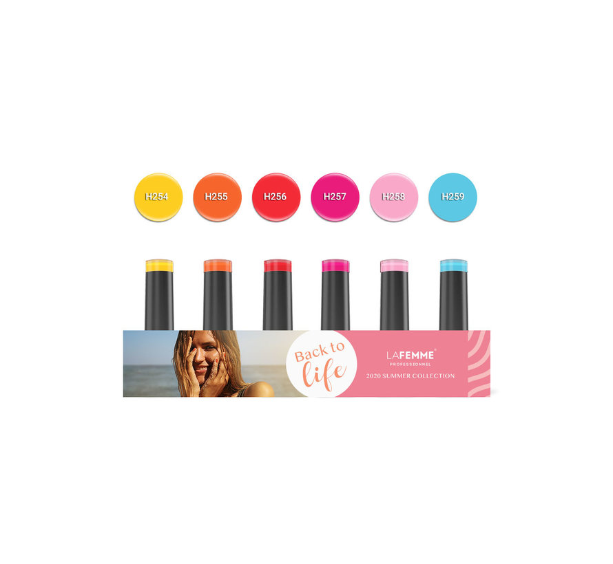Back to Life Gel Polish collection