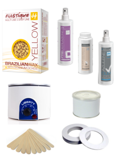 Holiday Hot Elastique Wax Startkit 1