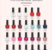 La Femme Evercolor nailpolish met gratis display