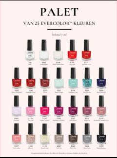 La Femme Evercolor nailpolish met gratis display