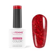 La Femme Gel Polish Ultra HD - Glowly Red