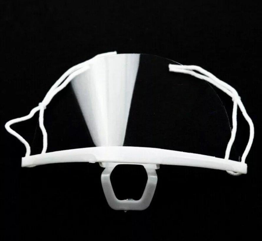 Transparante mondmaskers 5 stuks
