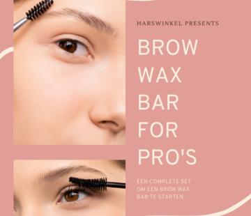Brow Wax Bar voor pro's