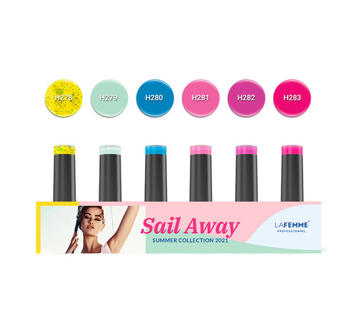 La Femme Gel Polish Ultra HD Sail Away Summer collection