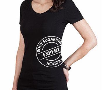 T Shirt Body Sugaring Expert