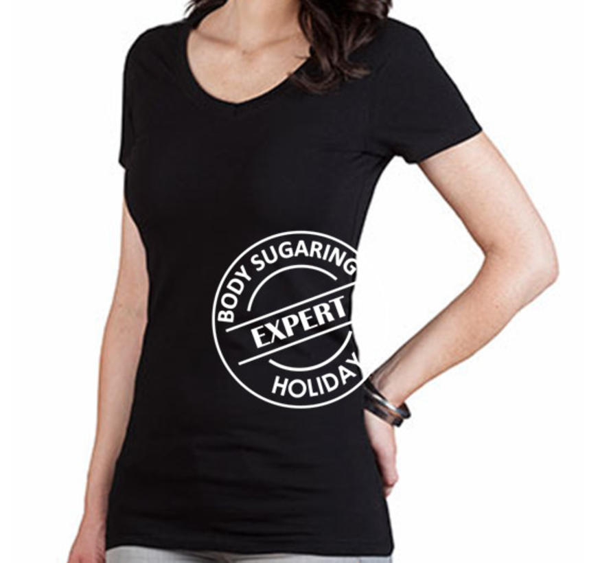 T Shirt Body Sugaring Expert