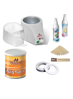 Holiday Hot Elastic Wax Startkit 3