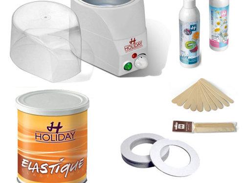 Holiday Hot Elastic Wax Startkit 3