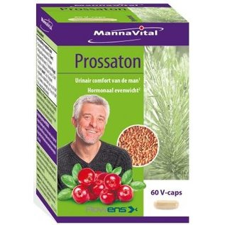 MANNAVITAL NATURAL PRODUCTS PROSSATON (60 V-CAPS)