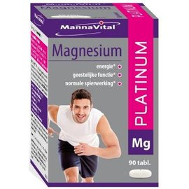 MANNAVITAL NATURAL PRODUCTS MAGNESIUM PLATINUM (90 TABLETTEN)