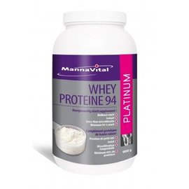 MANNAVITAL NATURAL PRODUCTS WHEY PROTEÏNE 94 PLATINUM (900 G)
