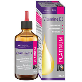 MANNAVITAL NATURAL PRODUCTS VITAMINE D3 DRUPPELS PLATINUM (100 ML)