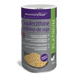 MANNAVITAL LÉCITHINE DE SOJA GRANULÉS 98 % SANS OGM CERT. ID PLATINUM (500 G)
