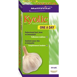 MANNAVITAL NATURAL PRODUCTS KYOLIC KNOFLOOK ONE A DAY (30 TABLETTEN)