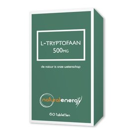 NATURAL ENERGY L-TRYPTOFAAN 500 MG (60 CAPS)