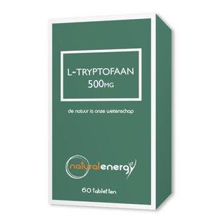 NATURAL ENERGY L-TRYPTOFAAN 500 MG (60 CAPS)