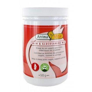 ANIMAVITAL HORSES MSM/GLUCOSAMINE MIX POEDER (500 G)