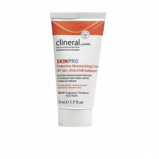 CLINERAL by AHAVA  CLINERAL SKINPRO Protective Moisturizing Cream SPF 50+ by AHAVA (50 ML)
