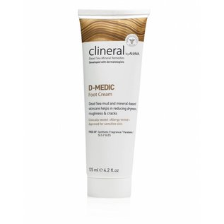 CLINERAL by AHAVA  CLINERAL D-MEDIC Foot Cream by AHAVA (125 ML)