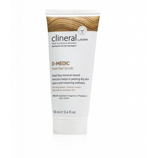 CLINERAL by AHAVA SKIN CARE CLINERAL D-MEDIC Foot Gel-Scrub by AHAVA (100 ML)